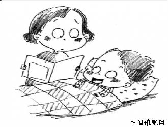 有些睡前故事不利孩子入睡